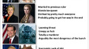 Presidential candidates compared to Game of Thrones characters