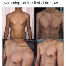 Take guys swimming