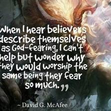 When I hear believers...