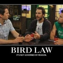 Bird law it's not governed by...