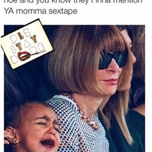 When ya auntie calls ya daddy's ex...