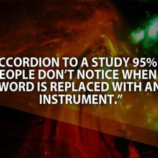 According to a study...