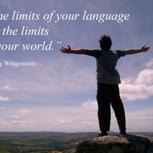 The limits of your language...