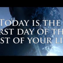 Today is the first day of...