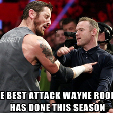 The best attack Wayne Rooney has done...