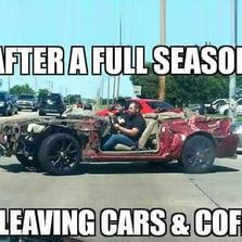 After a full season of leaving cars...