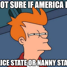 Not sure if America is police...