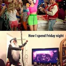 How I spend my friday night