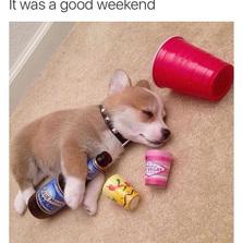It was a good weekend