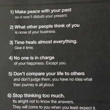 7 Important Rules Of Life
