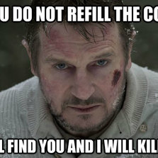 If you do not refill the coffee...