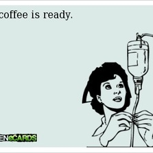The coffee is ready...