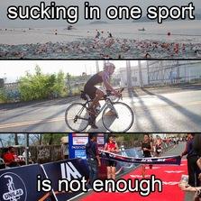 Sucking in one sport...