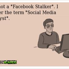 I prefer the term social media analyst...
