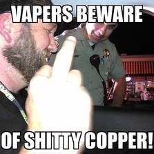 Vapers beware...