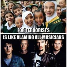 Blaming all musicians for Nickelback...