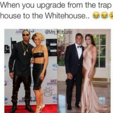 When you upgrade from the trap...