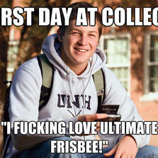 First day at college...