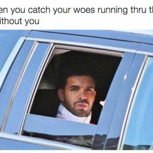 When you catch your woes running...