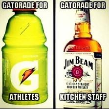 Gatorade for athletes...