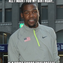 All I want for my birthday is a point guard...
