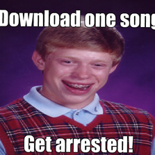 Download one song...