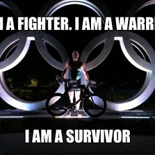 I am a fighter...