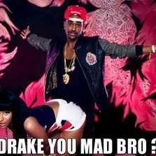 Drake you mad bro...