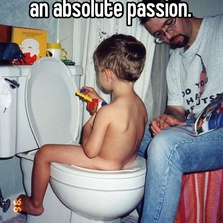 I hate potty training...