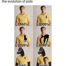 The evolution of polo...