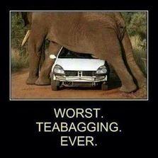 Worst tea bagging ever...