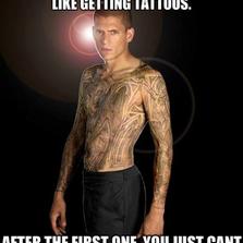 Making memes is like getting tattoos...