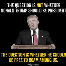 The question is not whether Donald Trump shou;d...