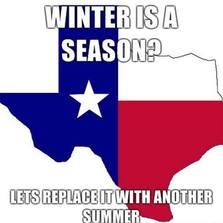 Winter is a season?