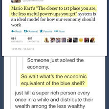 Mario Kart Vs. The Economy