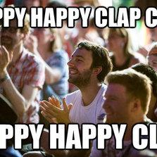 Happy happy clap...