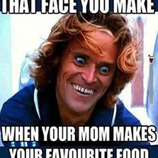 When your mom makes...