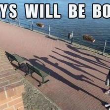 Boys will be boys...