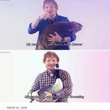 My name's Ed and this...