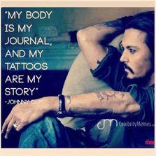 My body is my journal...