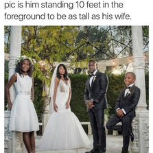 Kevin Hart wedding picture