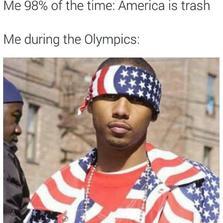 America is trash...