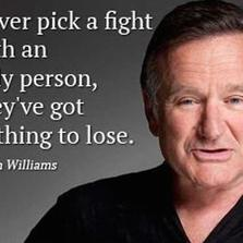 Never pick a fight...