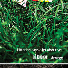 Littering, It Says A Lot About You