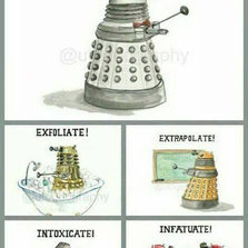 The Rich Language Of A Dalek