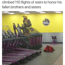 Honoring his fallen brothers and sisters