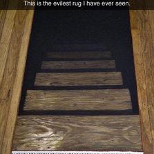 Most evil rug ever