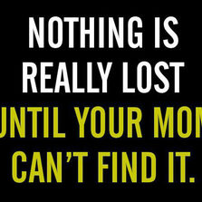cool-lost-stuff-quote-mom