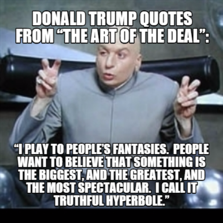 The Art Of The Deal Quotes Mesmerizing Meme Characters  Memes