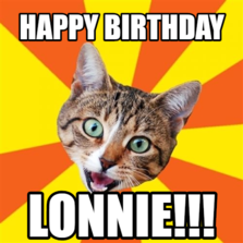 Happy Birthday Lonnie!!!